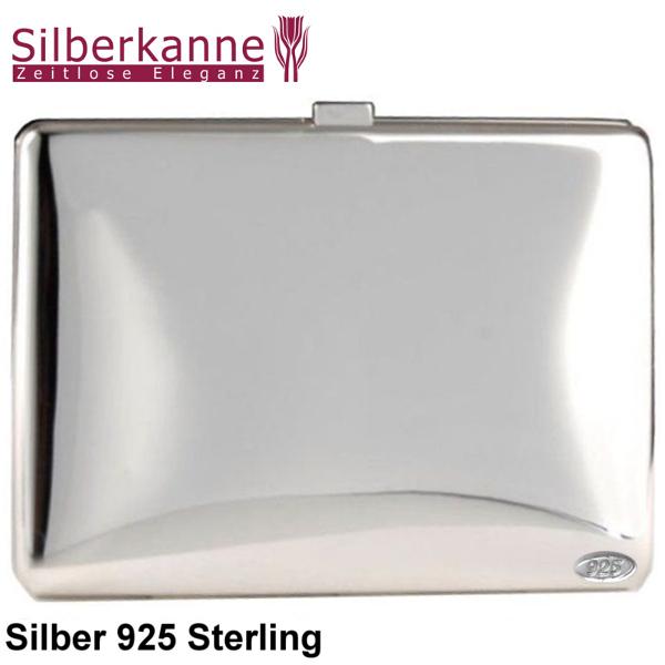 Zigarettenetui Visitenkartenetui 9x6x0 8 Cm Silber 925 Sterling
